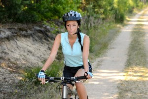 http://www.dreamstime.com/royalty-free-stock-photos-woman-enjoy-recreational-mountain-biking-countryside-path-recreation-image37927338